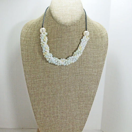 Dalila Bead Crochet Necklace relevant view