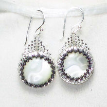 Load image into Gallery viewer, Ella Beaded Earrings front relevant view