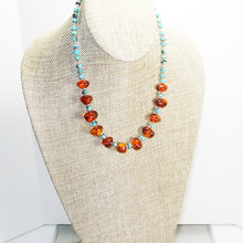 Load image into Gallery viewer, Ujana Amber Beaded Necklace relevant view