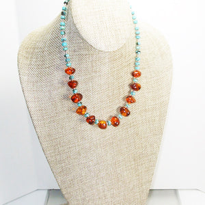 Ujana Amber Beaded Necklace relevant view