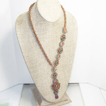 Load image into Gallery viewer, Ellie Beaded Necklace front relevant view