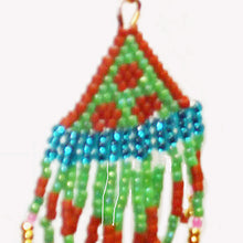 Load image into Gallery viewer, Jalila Indian Fringe Earrings blow up view
