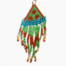 Load image into Gallery viewer, Jalila Indian Fringe Earrings single view