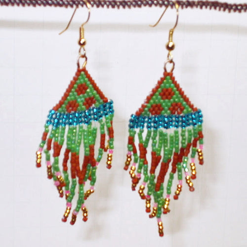 Jalila Indian Fringe Earrings relevant view