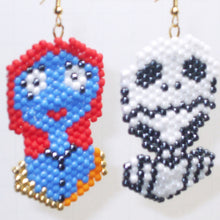 Load image into Gallery viewer, Alina Jack and Sally Beaded Earrings relevant view