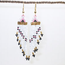 Load image into Gallery viewer, Bonita Indian Fringe Earrings front view