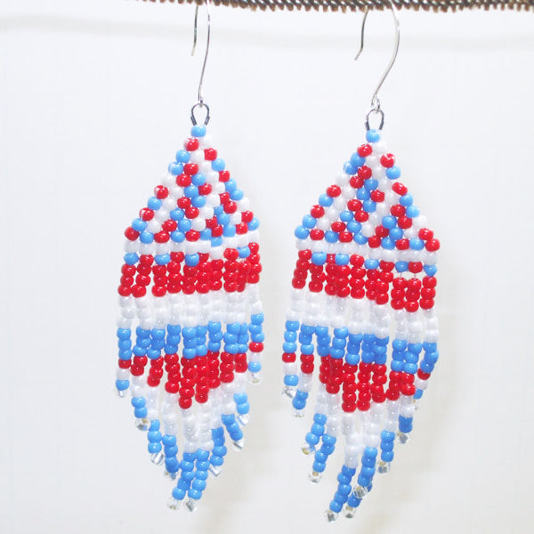 Bellezza Indian Fringe Earrings