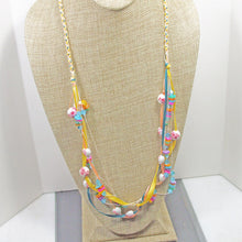 Load image into Gallery viewer, Derwen Beaded Kumihimo Necklace relevant view