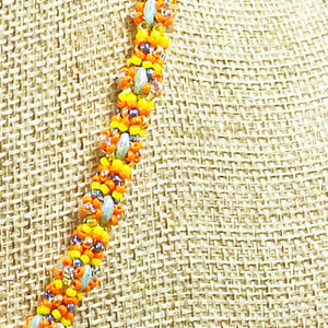 Daere Beaded Mandala Rope Necklace rope view