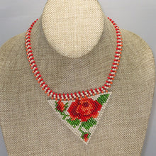 Load image into Gallery viewer, Yachne Beaded Pendant Necklace front relevant view