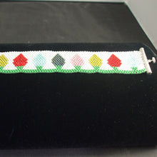 Load image into Gallery viewer, Hachi Christmas Lights Bracelet flat view