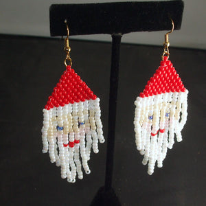 Radhika Christmas Fringe Earrings relevant view