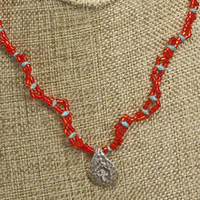 Load image into Gallery viewer, AAron Charm Pendant Necklace close up view
