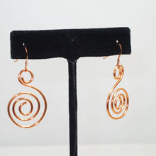 Load image into Gallery viewer, Tacita Geometric Wire Earrings relevant view
