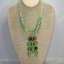 Load image into Gallery viewer, Eartha Beaded Kumihimo Necklace relevant view