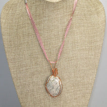 Load image into Gallery viewer, Fairlee Picture Stone Cabochon Pendant Necklace front relevant view