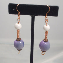 Load image into Gallery viewer, Tadita Beaded Wire Earrings relevant view