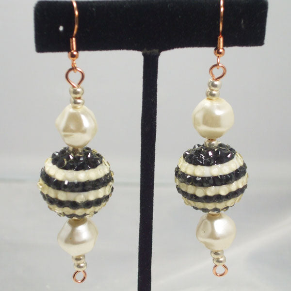Ula Beaded Dangle Earrings relevant view