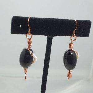 Xenosa Wire Beaded Earrings relevant view