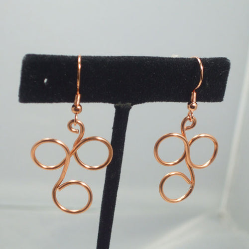 Aasta Wire Earrings front relevant view