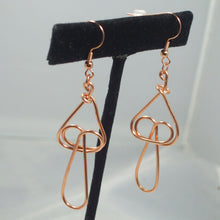 Load image into Gallery viewer, Baka Wire Earrings front relevant view