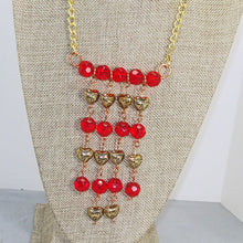 Load image into Gallery viewer, Sadhana Beaded Wire Necklace relevant view
