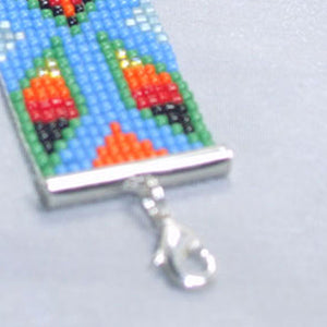 Quibele Loom Native Bracelet clasp view