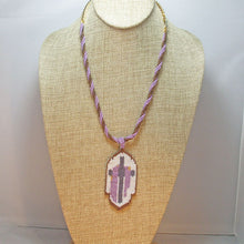 Load image into Gallery viewer, Edelburga Beaded Pendant Necklace relevant view
