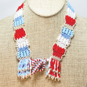 Kaila Seed Bead Necklace