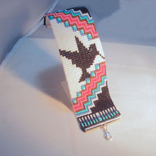Load image into Gallery viewer, Lakota Native Loom Bracelet relevant view