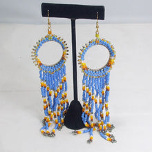 Load image into Gallery viewer, Wanika Hoop Beaded Earrings relevent view