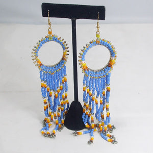 Wanika Hoop Beaded Earrings relevent view