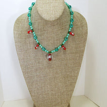 Load image into Gallery viewer, Cafleen Christmas Necklace relevant front view