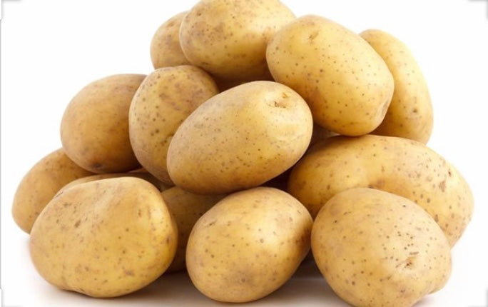 Washed White Potatoes 2kg