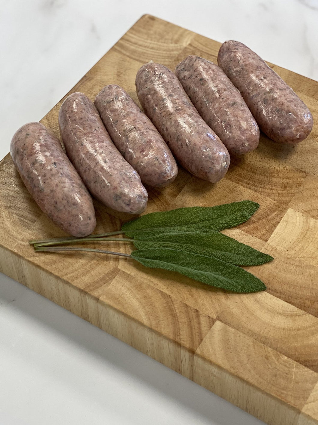 Cumberland sausages from Hill House Farm