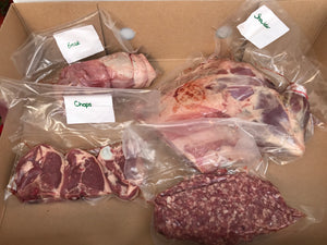 Luke's Lamb, Quarter shoulder box of fresh local lamb from Abinger