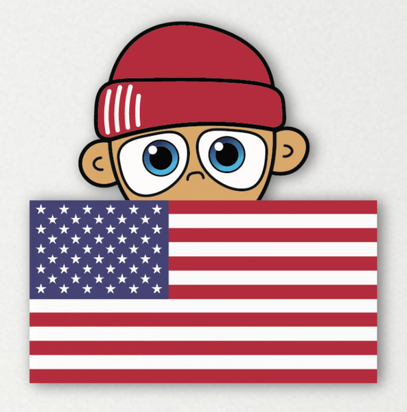 USA Flag - Emerging Homie