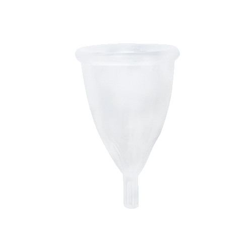 Reusable Menstrual Cup — HB / Clear