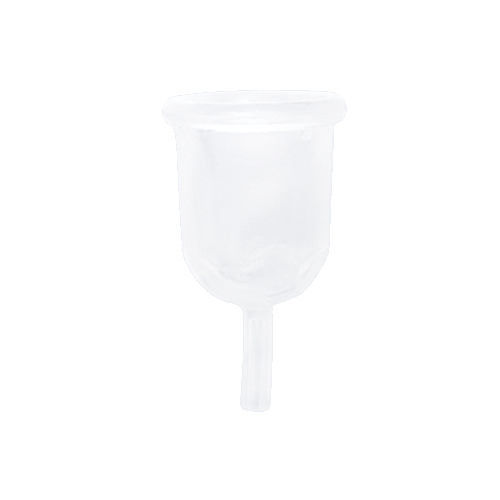 Reusable Menstrual Cup — M+ / Clear