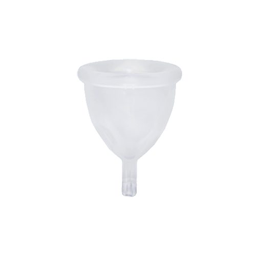 Reusable Menstrual Cup — SB / Clear