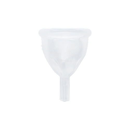 Reusable Menstrual Cup — S / Clear