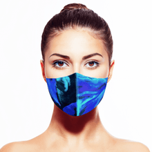 Load image into Gallery viewer, Aurora Borealis Silk Mask* - Maskela Reusable Fashionable Face Masks