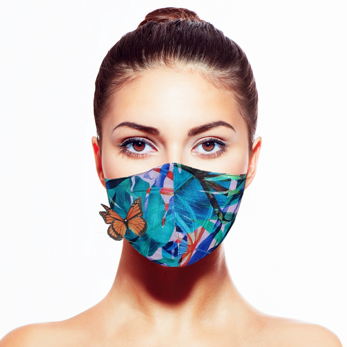 Biodiversity Mask* - Maskela Reusable Fashionable Face Masks