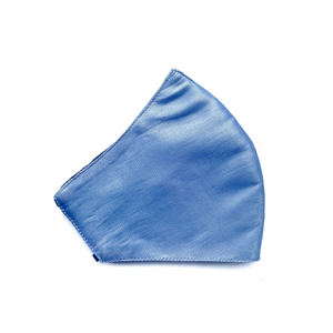 Lamé Mask - Blue Ice - Maskela Reusable Fashionable Face Masks