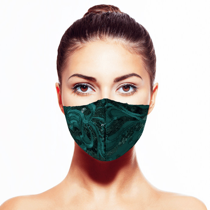 Esmeralda - Verte* - Maskela Reusable Fashionable Face Masks