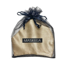 Load image into Gallery viewer, Classic Silk Mask - Champagne - Maskela Reusable Fashionable Face Masks