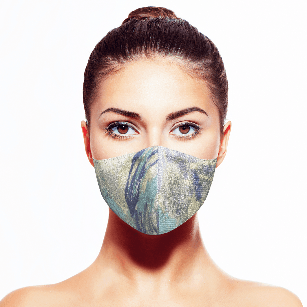 Tranquility Mask* - Maskela Reusable Fashionable Face Masks