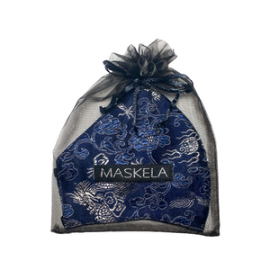 Dragon Mask - Navy - Maskela