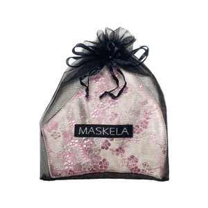 Sakura Mask - Pink - Maskela Reusable Fashionable Face Masks