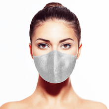 Load image into Gallery viewer, Platinum Mask* - Maskela Reusable Fashionable Face Masks